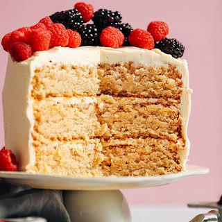 1-Bowl Vegan Gluten-Free Vanilla Cake.