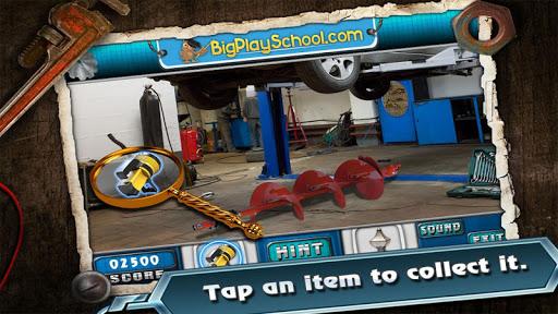 Garage Fun Find Hidden Object