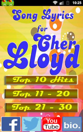 2015 Songs for CHER LLOYD