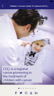 Children's Cancer Center of Lebanon (CCCL)- screenshot thumbnail