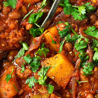 Butternut and Borlotti Bean Stew Recipe