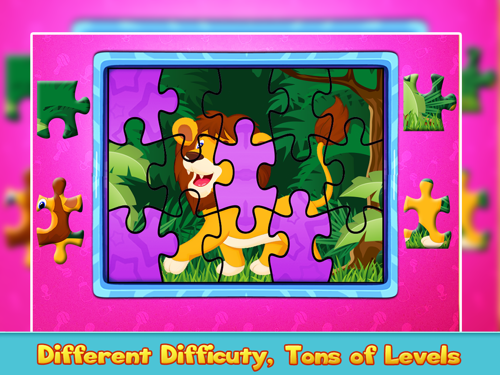 Preschool Toddler Puzzles- Learning Game- screenshot