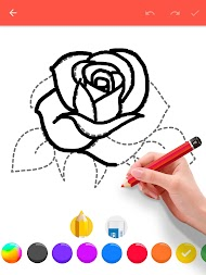 How To Draw Flowers APK screenshot thumbnail 10