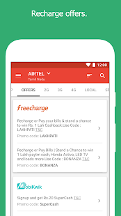 Recharge Plans, DTH Plans, Offers- screenshot thumbnail