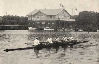 Photo: 1924 Saxkøbing Roklubs nordiske mestre.