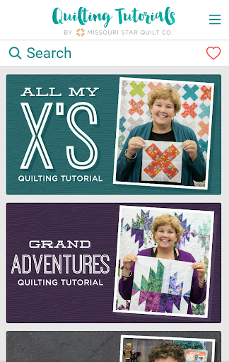 Quilting Tutorials by MSQC screenshots 1