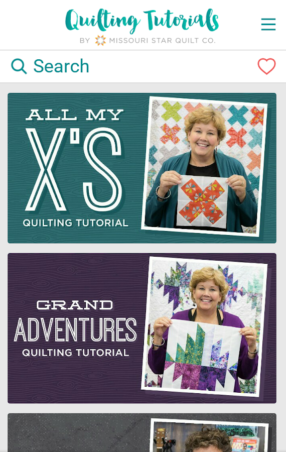 Quilting Tutorials by MSQC- screenshot