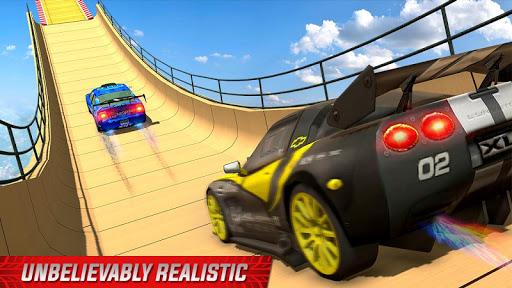 Impossible Mega Ramp Sports Car Stunt Drive 1.2 screenshots 1