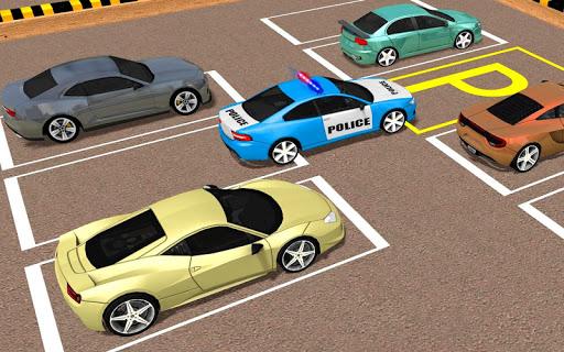 Télécharger mania de stationnement de voiture police moderne apk mod screenshots 1