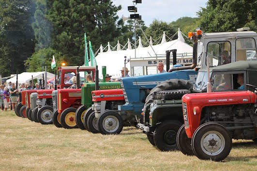 Guilsfield Charity Tractor Run