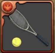 真田のテニスラケット
