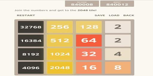2048 xếp hình mới