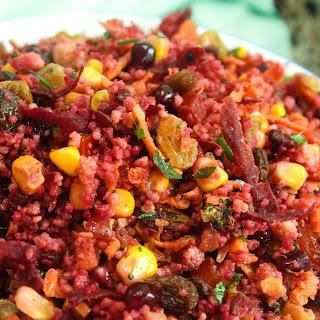 Moroccan Couscous Salad.