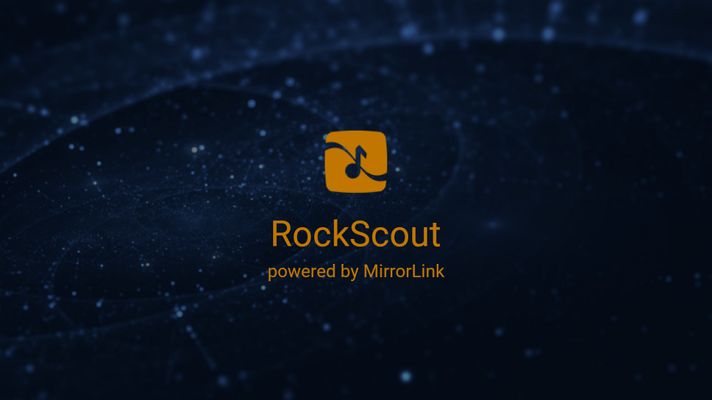 RockScout, by MirrorLink®- screenshot