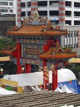 Photo: Vue du Temple du bouddha en or massif - Bangkok
