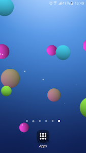 Colorful Bubble Live Wallpaper screenshot 0
