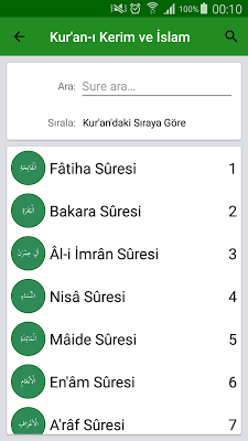 Kur'an-ı Kerim ve İslam - screenshot