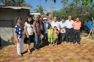 Photo: Tại nhà bạn Huỳnh Công Minh