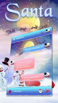 Santa GO SMS - screenshot