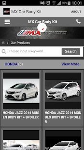 Mxcarbodykit.com- screenshot thumbnail