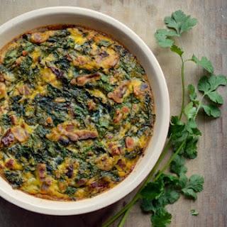 Green Eggs And Ham Breakfast Pie