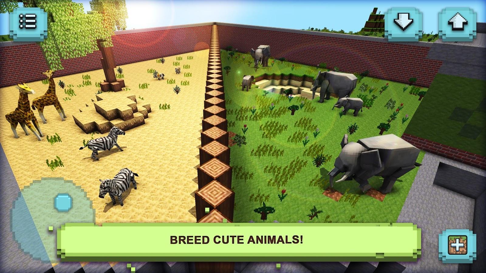 Cute animals mod - Zoo Craft My Wonder Animals Screenshot