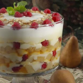Roasted Pear Trifle.
