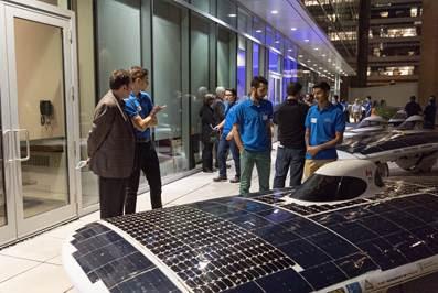 ANSYS Четыре поколения автомобилей на солнечной электроэнергии