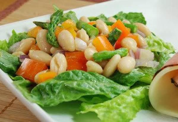 White Bean Salad With Asparagus Recipe