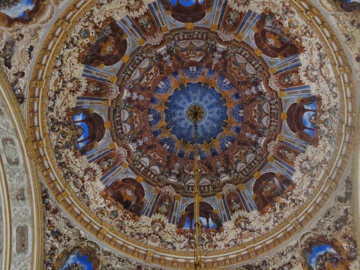Plafond au Palais de Dolmabahçe
