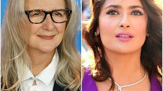 La directora Sally Potter y la actriz Salma Hayek.