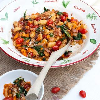 Tomato and Bacon Gnocchi Skillet Dinner Recipe