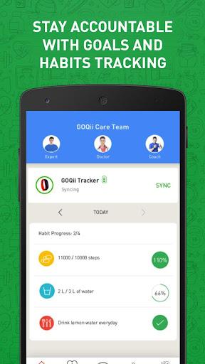 GOQii - Preventive Healthcare. screenshot 1