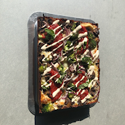 Large spring vegetarian lizza