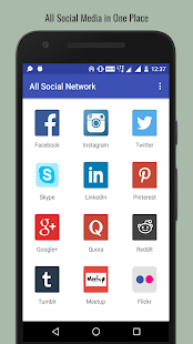 All in one social network media - All Social sites