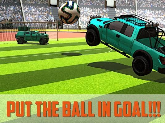 4x4 Car Soccer In Stadium 2016 - screenshot