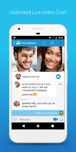 Paltalk - Find Friends in Group Video Chat Rooms 7.5.7207 screenshots 2