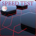 La prueba de velocidadconexión icon