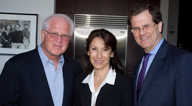 Photo: David Rousso, Paula Bennett, AJC Executive Director David Harris. © Tom Neerken Photography