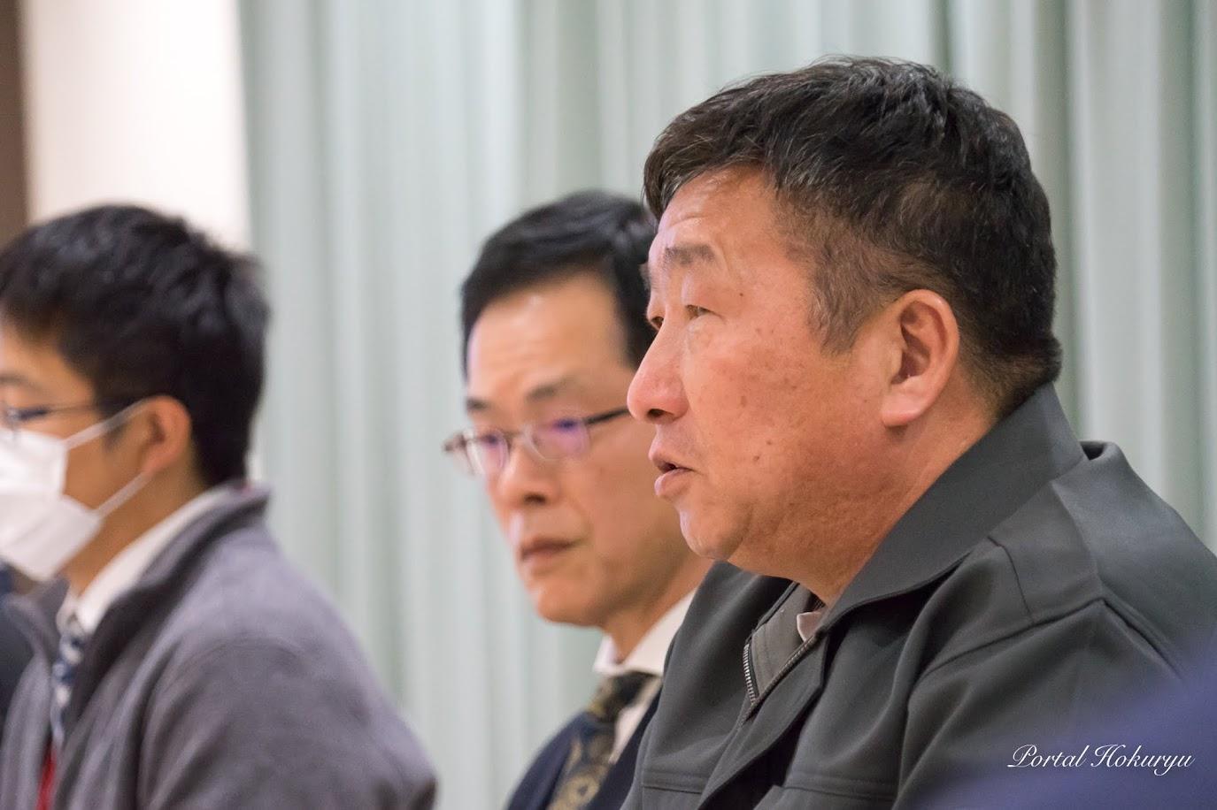 北竜町ひまわり油生産協議会・藤井二郎 会長