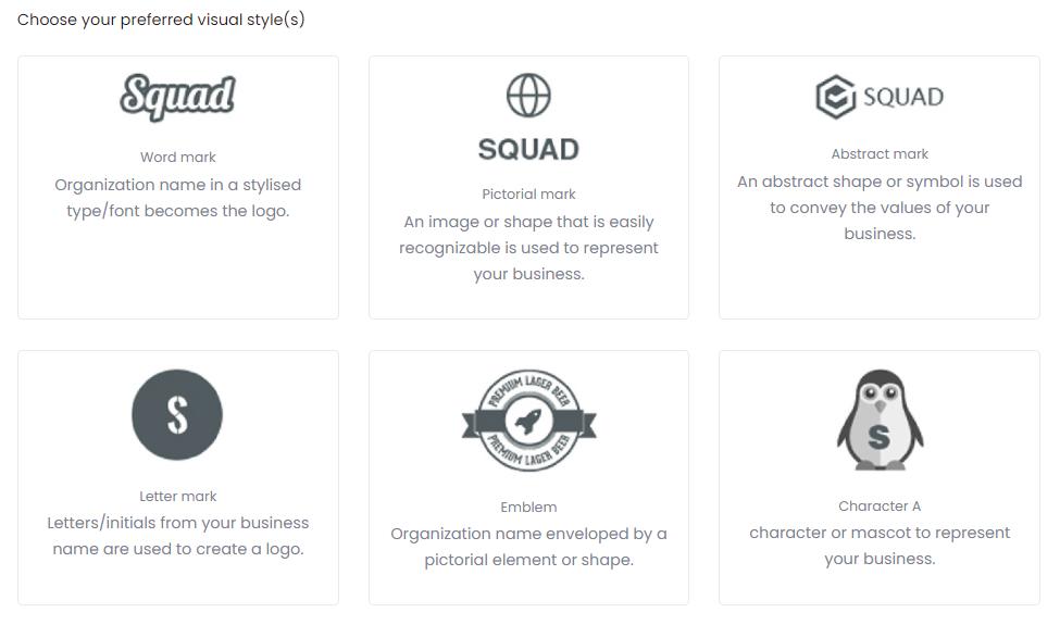 Squadhelp Logos and Taglines