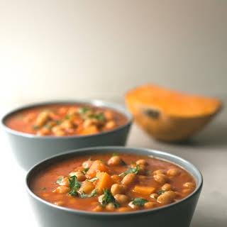 Spanish Pumpkin and Chickpea Stew.