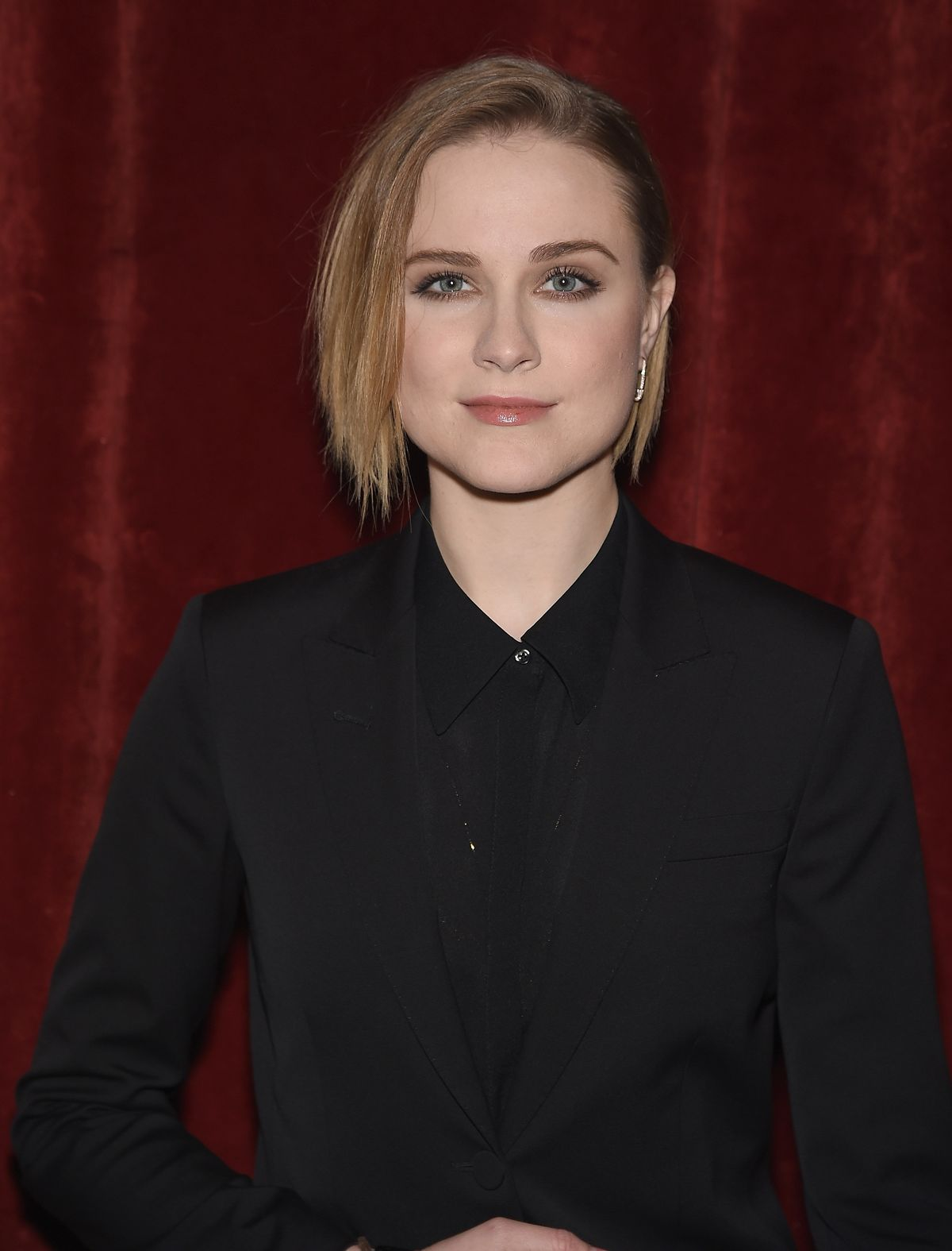 NEW YORK, NY - JANUARY 17: Evan Rachel Wood attends The New York Special Screening Of Lucasfilm's STRANGE MAGIC At The Tribeca Grand Hotel Hosted By The Cinema Society on January 17, 2015 in New York City. (Photo by Dimitrios Kambouris/Getty Images)