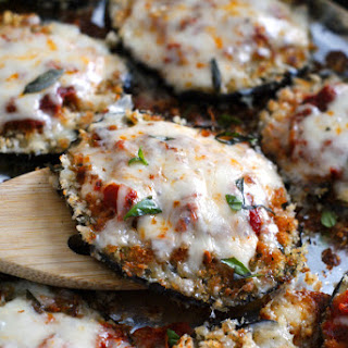 Eggplant Parmesan Without Bread Crumbs Recipes