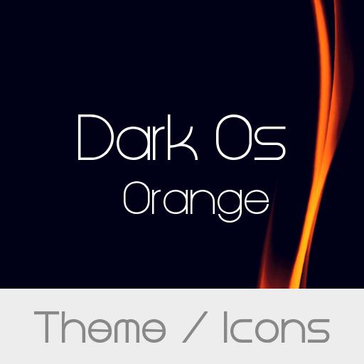Dark Os Orange Theme
