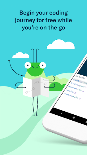 Grasshopper: Learn to Code for Free Android App Screenshot
