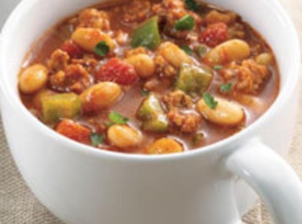 Moroccan White Bean Turkey Chili Recipe