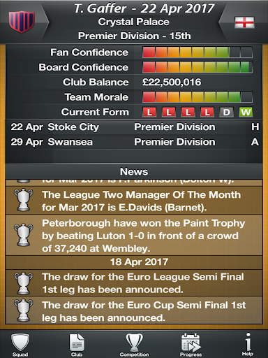 My Football Club Manager MyFC Soccer 2017 1.22 screenshots 7