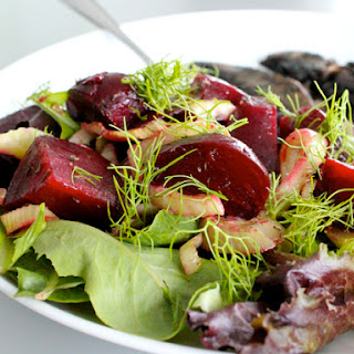 Roasted Beet and Fennel Salad