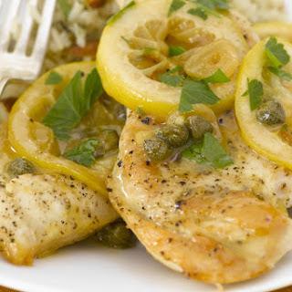 Slow Cooker Lemon Chicken.